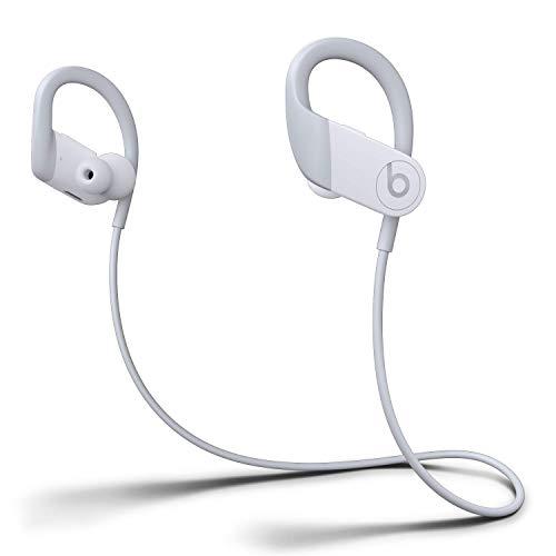 Audífonos in-ear Powerbeats inalámbricos de alto rendimiento, Chip H1 para audífonos diseñado por Apple, BluetoothClass1, 15horas de audio, almohadillas resistentes al sudor - Blanco