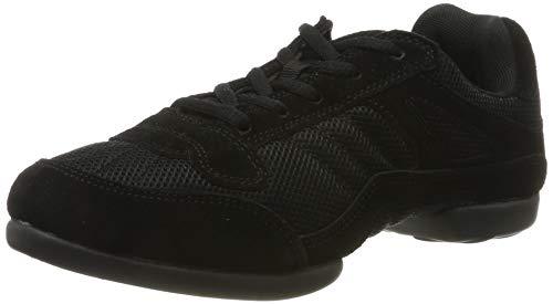 RUMPF Samba Sneaker Sportschuhe Ballet & Tanzschuhe Dance, Schwarz (Black), 38 EU/ Herstellergröße- 5 UK