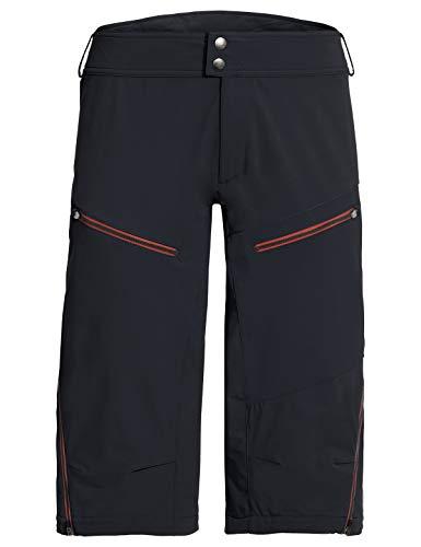 VAUDE Herren Hose Men\'s Moab Shorts III, Enduro-Shorts zum Mountainbiken, 80 {d2bbda55a7950026032c77eff869f7df4c9b1f1491384c2144703e71ece3daea} winddicht, black, 56, 408580105600