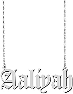 Custom Customized Any Name Necklace Pedant Jewelry for Women Girls