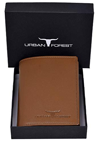 URBAN FOREST Leather Men's Wallet (UBF101TOB1004_Brown)