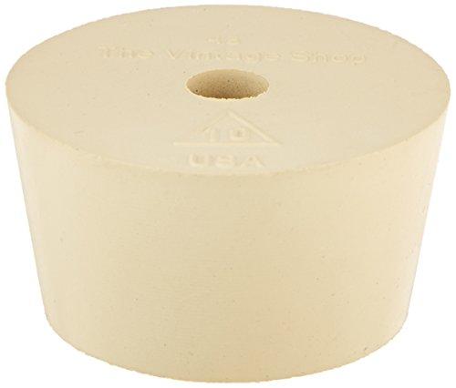 RiteBrew Rubber Stopper - Size 10 - Drilled