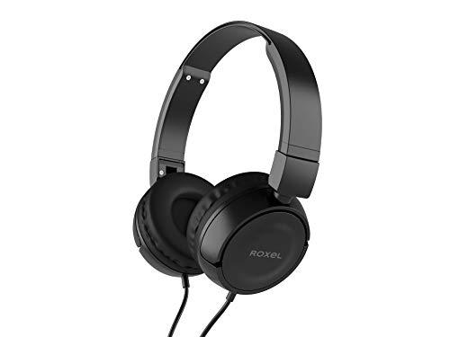 classement un comparer Casque pliable Roxel RX110, basses puissantes avec microphone, compatibilité…