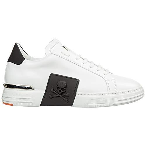 Philipp Plein Herren Sneaker Bianco 44 EU