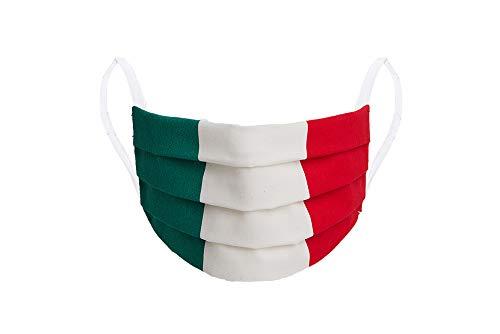 MASCHERINA ITALIA COTONE 100% LAVABILE MADE IN ITALY