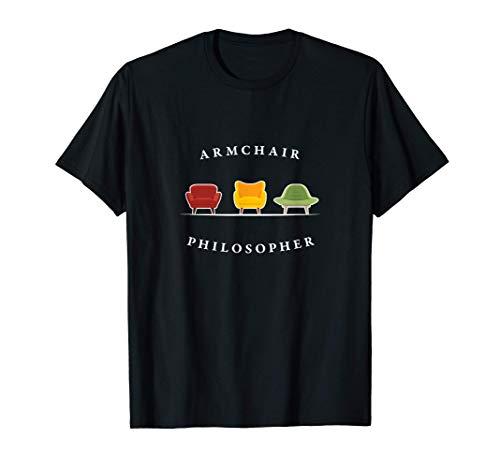 Filósofo de sillón - teórico superficial Camiseta