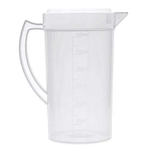 IEFIEL Mesure d'eau en plastique Pichet d'eau avec...