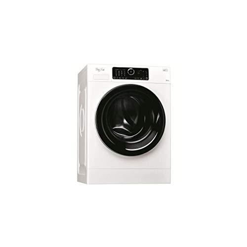 Lave linge Hublot Whirlpool FSCR12440 - Lave linge Frontal - Pose libre - capacité : 12 Kg - Vitesse d'essorage maxi 1400 tr/min - Moteur à induction - Classe A+++ -50%