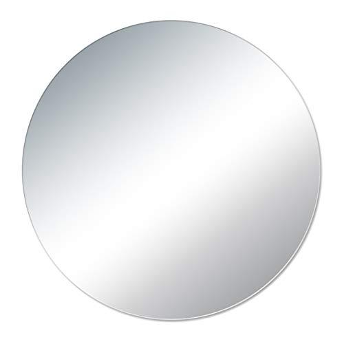 Miroirs de salle de bain Miroir De Salle De Bain Rond Miroir De Salle De Bain Européen Miroir De Maquillage Anti-déflagrant Miroir De Maquillage (Color : Clear, Size : 70cm)