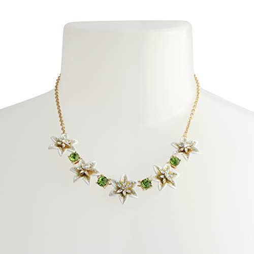 Betsey Johnson Lily Flower Necklace