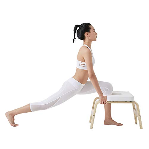 Best Price LISI Yoga Headstand Bench, Yoga Headstand Chair Yoga Auxiliary Training Inversion Chair w...