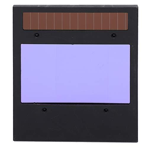 Lente de soldadura de sombra solar color lente de soldadura automática con energía solar para Tig Mig para proteger la cabeza