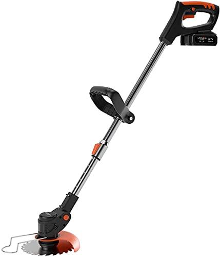 Erba trimmer cordless regolabile giardino strimmer a benzina strimmers elettrico handheld 21v prato bordo trimmer elescopico leggero tyrdn trimmer 6000 mAh