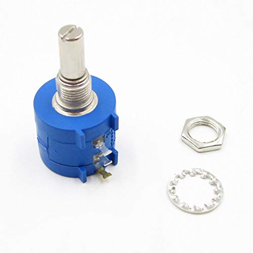 POWERTOOL Potentiometer Pot 3590S-2-103L 10K Ohm Rotary Wirewound Multiturn Adjustable Resistor Linear Lin Liner Taper(Pack of 1)