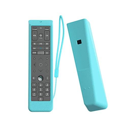 HEYLULU Estuche de Control Remoto XFinity Comcast XR15 Voice Funda de Silicona a Prueba de Golpes Piel Protectora para XFinity X1 Xi6 Xi5 TV Verde Fluorescente