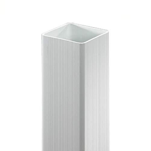 Videx-Kunststoff-Pfosten Oxford, 80 x 10 x 10cm, weiß