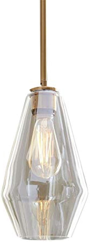 DZHYB Europische Und Amerikanische Vintage Retro Deckenleuchte Kronleuchter Klarglas Moderne Küche Bar Anhnger Beleuchtung