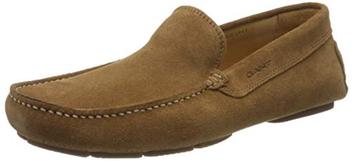 GANT Footwear Herren NICEHILL Mokassin, Braun (Cognac G45), 42 EU