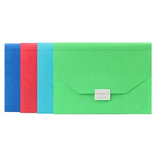 MAATCHH Cartella File Espandibile Borsa da Organo Portatile, Colore della Caramella, Multi-Strato, Cartella File classificata con Etichetta Documento Dell'organizzatore