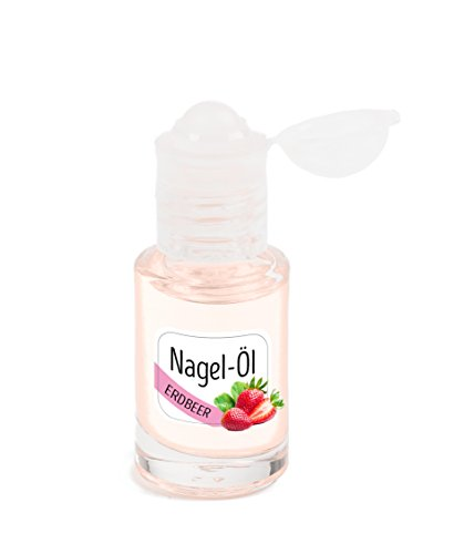 KM-Nails Erdbeer Nagelöl im iRoll System 6ml