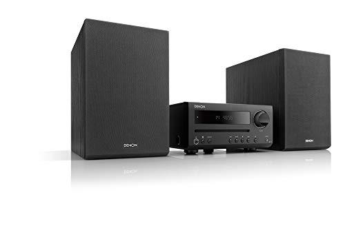 デノン Denon D-T1 CDレシーバーシステム CD/FM/AMラジオ/Bluetooth対応 ブラック D-T1K