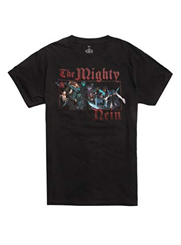 Hot Topic Critical Role The Mighty Nein Group T-Shirt Black MD