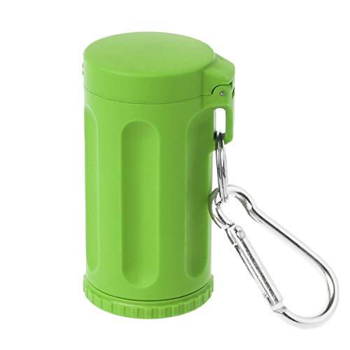 Junlinto, Mini posacenere, Mini Tasca Portatile Portacenere Portacenere Antivento Portachiavi Accessori da Fumo Verdi