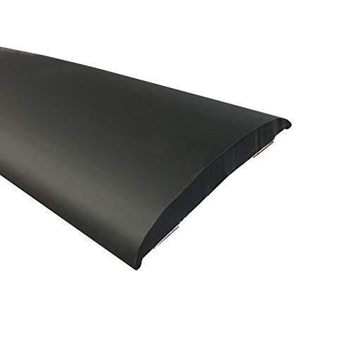Moldura universal NEGRA (tira 5 m) auto-adhesiva PVC protección paragolpes.