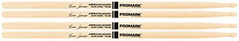 2 PACK Regular discount ProMark Elvin Jones Jazz Wood Hickory Drumsticks Tip trend rank TXJZ