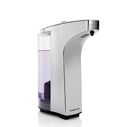 simplehuman 8 oz. Sensor Soap Pump, Brushed Nickel