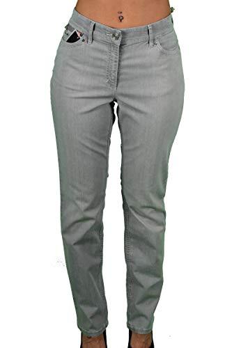 Zerres Damen-Jeans Sarah in grau Größe 21