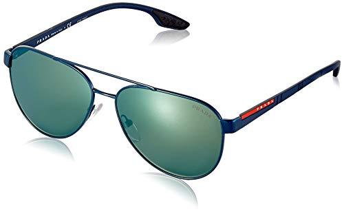 Prada LINEA ROSSA 0PS 54TS Gafas de sol, Blue, 58 para Hombre