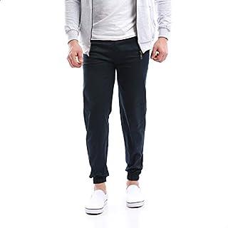 Andora Drawstring Gabardine Cuffed Slim Pants For Men