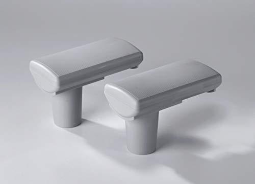WESTFALIA Automotive Dachrinnen Siphon, 2er Pack - 15 cm lang, bis 9 cm Fallrohrdurchmesser