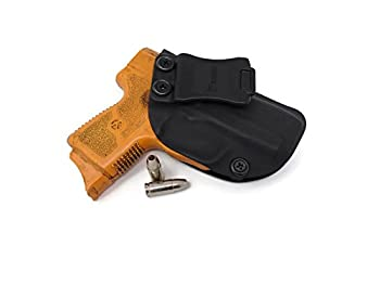 Kahr Arms PM9 with Crimson Trace Laserguard IWB Holster  FBI Cant 15 Degree Forward Cant