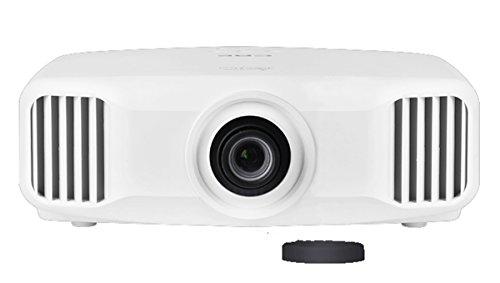 ZYWX 3LCD Corto Foco Inteligente 3D Proyector Home HD 2K Proyector Sin Pantalla TV Adecuado para Multimedia Teatro En Casa Oficina De Entretenimiento Blanco
