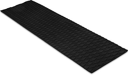 """Non Slip Grip Traction Mat - Marine Flooring & Paddle Board Step Pad - Boat Floor, Kayak, Surfboard, Skimboard & SUP Paddleboard Deck Padding - Versatile & Trimmable EVA Foam Sheet - 34"""" x 9"""""""