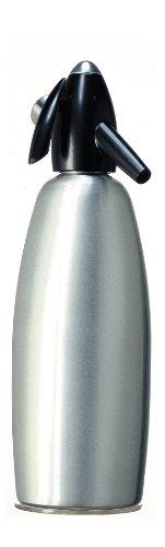 iSi 1007 Soda Siphon, Wassersprudler für Sprudelwasser, Sprudler mit Edelstahlflasche, Kohlensäure für Wasser, Soda Maker, Für Drinks & Cocktails