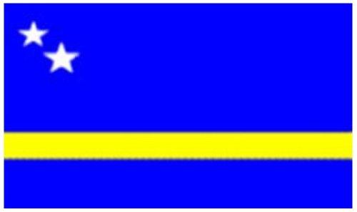 Curaçao Vlag 5ft x 3ft
