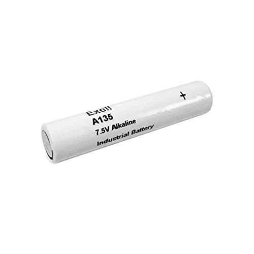 Exell A135 Alkaline 7.5V Battery 5LR50, 132A, A132, 2LR50, H-2P/A, EN132A, PC132A, TR132, TR132T