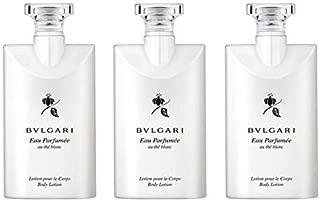 Bvlgari Au the Blanc (White Tea) Body Lotion - Set of 3, 2.5 Ounce bottles