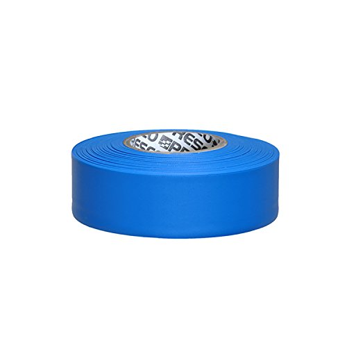 Presco Taffeta Roll Flagging Tape: 1-3/16 in. x 300 ft. (Blau)