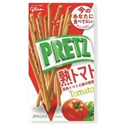 グリコ PRETZ(プリッツ)熟トマト 60g×10個入×(2ケース)