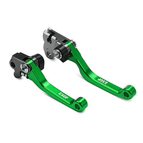 Motocykl CNC Pivot Dirt składany rower dźwignie sprzęgła hamulca dla CRF230 F C&RF 230 F CRF150F 2003-2017 CRF250F 2019-2021 Sprzęgło motocyklowe (Color : A)