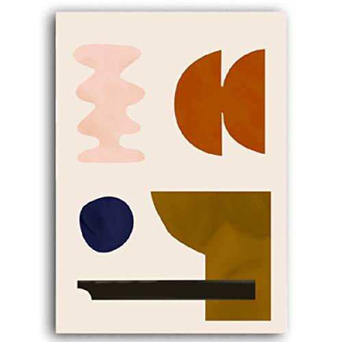 LiMengQi2 Moderne Kunst abstrakte leinwand malerei Poster und Druck Galerie wandkunst POP Bild Dekoration Home Indoor Wohnzimmer (Kein Rahmen)