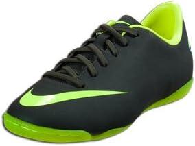 Nike Boys Jr Mercurial Victory III IC Indoor Soccer Shoes - Seaweed/Volt