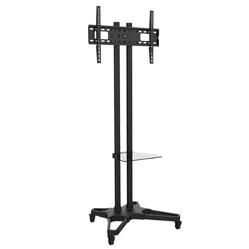 Suporte Pedestal com rodas e travas para TV LCD/LED, Para tela de 37-70 FT-6418B