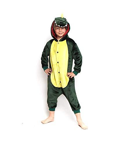 Disfraz Dragón Dinosaurio Infantil para Carnaval Pijama (3-4 años) (+ Tallas) Animales