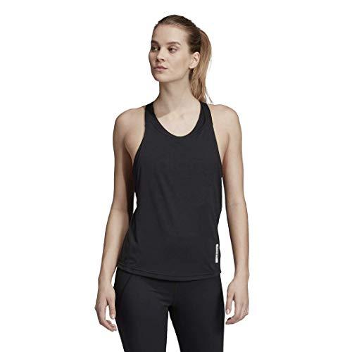 adidas Damen Brilliant Basics Tank Top, Damen, Top, Brilliant Basics Tank, schwarz/weiß, Large