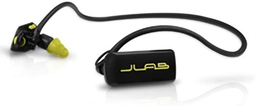Jlab GO4GB-BY Go Waterproof/Sweatproof/Sports MP3 Player Headphones - 4GB - Black/Yellow